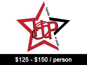 125 - 150 per person -
