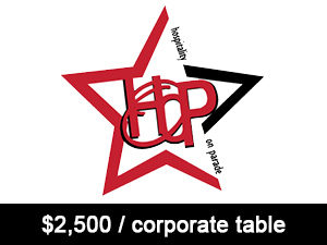 2500 per corporate table -